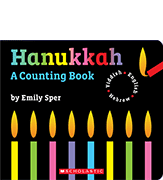 Hanukkah: A Counting Book cover